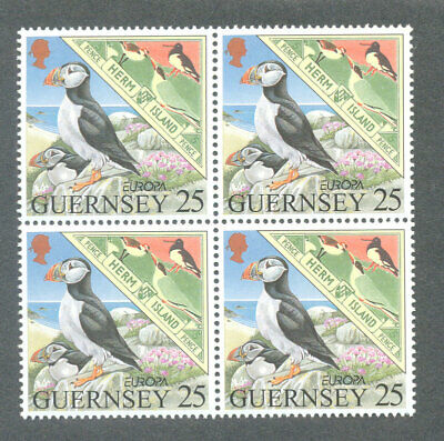 Birds-the Puffin Guernsey 1989 Single In Block 4 Mnh Beroemd Om Hoogwaardige Grondstoffen, Een Breed Scala Aan Specificaties En Formaten, En Een Grote Verscheidenheid Aan Ontwerpen En Kleuren