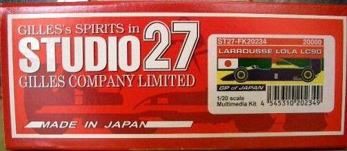 Studio 27  Larousse LC90 Japón Grand Prix Resin Kit FK20234