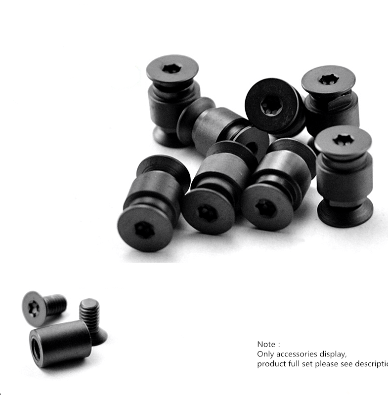 High Quality Titanium Alloy Tube Clip Screws Set For C81 Access J9G1 N6D3