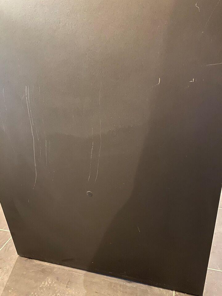 Bar/Højbord, sort linolium, Dencon