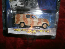 JOHNNY LIGHTNING MILITARY MUSCLE GROUND ASSAULT EDITION WWII CHEVROLET STAFF CAR