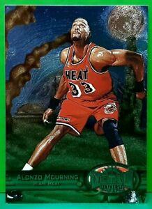Alonzo Mourning regular card 1997-98 Metal Universe #7
