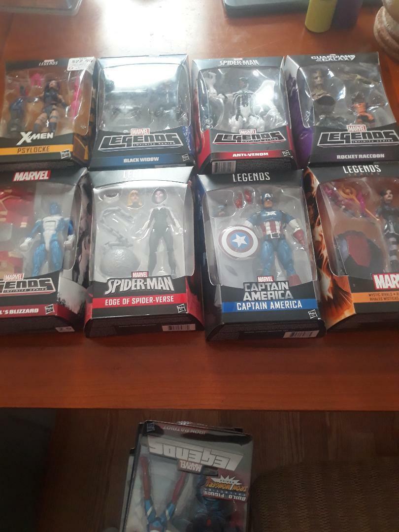 Marvel Legends Infinite ToyBiz Hasbro Hasbro Hasbro Mysterio Spider Gwen Spider Man 20 figures 8b2dfe