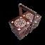 miniatura 2 - Caja de Costura de Madera 35CM En Marrón Oscuro de Color