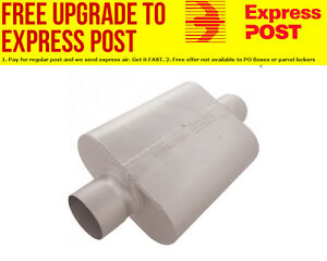 Flowmaster-30-Series-Delta-Force-Race-Muffler-4-034-Center-Inlet-Outlet