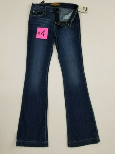 27 Else Women/'s Skinny Boot Cut Mid Rise Flare Denim Blue Jeans Size 26 28 NWT
