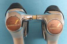 Shimano Dura Ace STI Shifters - 8 speed rear x 2 speed front - ST-7400 Grade-B+