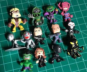 Lot of 13 Funko Mystery Minis - Marvel Figures