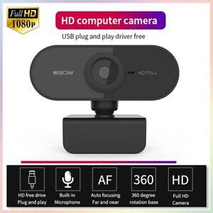 1080P-HD-Webcam-AUTOFOCUS-Web-Camera-Cam-For-PC-Laptop-Desktop-with-Microphone