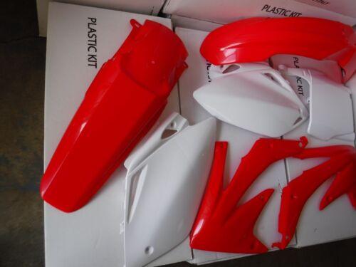 RACE TECH PLASTIC KIT HONDA CRF450 CRF450R 2005 2006 PLATES  SHROUDS  FENDERS