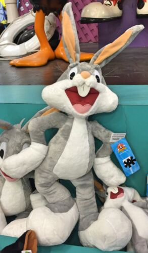 "Six Flags Magic Mountain Looney Tunes Large Bugs Bunny 27/"" Plush New"