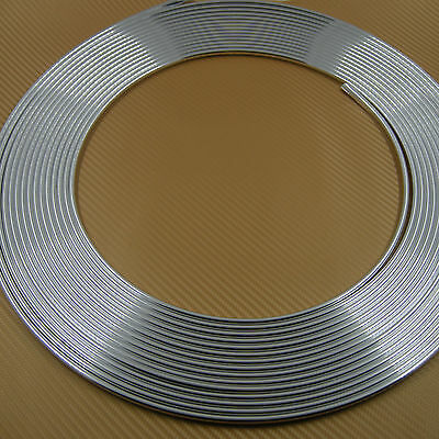 Guard Edge Protection Door Moulding Stripe Trim 41Feet/13M Fit Most Car Silver