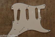 Golpeador Stratocaster Crema 8 Agujeros 3 Capas SSS Pickguard Strato 57 Cream