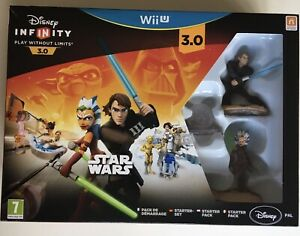 WiiU Disney Infinity 3.0 Star Wars Heroes Game Starter Pack Wii U Nintendo