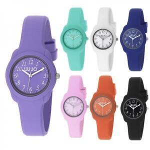 Orologio-Donna-LIU-JO-Luxury-modello-JUNIOR-Silicone-Colorato-Nuovo