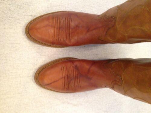 Size 9 Dingo High Top Western Cowboy Boots