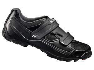 Shimano-M065-SPD-Mens-MTB-Cycling-Shoes-Black