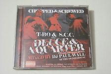 DJ PAUL WALL pres T-BO & S.C.C - DEUCE & A QUARTER US-CD 2004 Lil Boosie Haystak