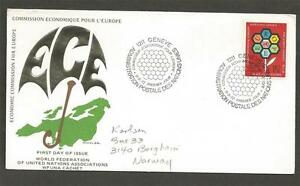 UNITED-NATIONS-GENEVA-Economic-Conference-of-Europe-FIRST-DAY-COVER