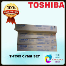 Genuine Toshiba TFC65Y T-FC65-Y   Toner Cartridge Yellow e-Studio 5540C 6540C 65