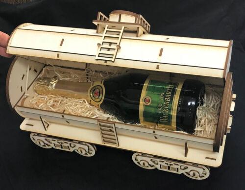 Eisenbahn Waggon Tankwaggon Weinwaggon Bausatz Modellbau 3D Modell / Puzzle Kit