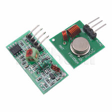 433Mhz RF transmitter and receiver link kit for Arduino/ARM