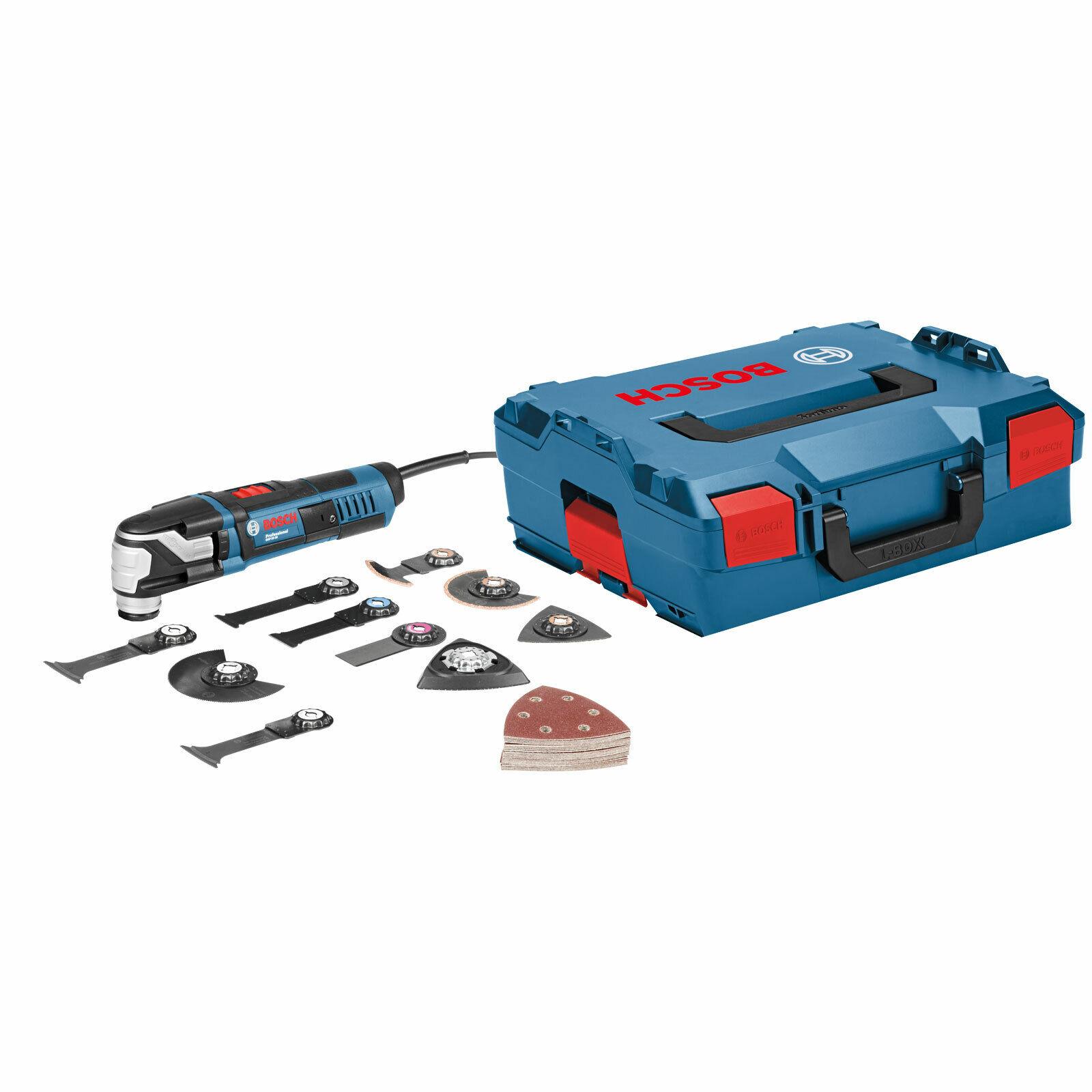 Bosch Multi-Cutter GOP 55-36 550 Watt ink Zubehör-Set 36tlg in L-Boxx 0601231101