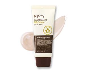 PURITO-Snail-Clearing-BB-Cream-No-21-Light-Beige-30ml-Korea-Cosmetic