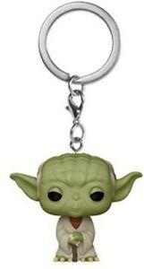 FUNKO POP! KEYCHAINS: Star Wars Classics - Yoda [New Toy] Keychain, Vinyl Figu