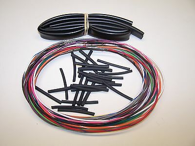 "96-06 Harley Street Glide 48/"" wiring extension FLHT switch wires with radio"