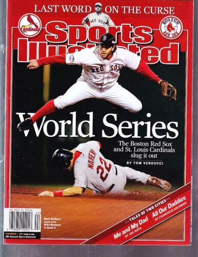 2004 Mark Bellhorn Boston Red Sox Sports Illustrated NO LABEL November 1