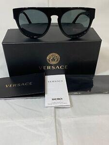 NEW Versace sunglasses VE4333 523173 Tortoise Green Classic Aviator GENUINE 4333
