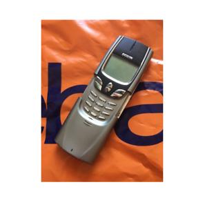 Details about Nokia 8850 Unlocked Original 2G GSM 900/1800 Java Slide  Mobile Phone Silver