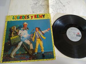 Lourdes-Amor-Y-Remy-Bricka-1982-Ariola-LP-Vinyl-12-034-VG-VG