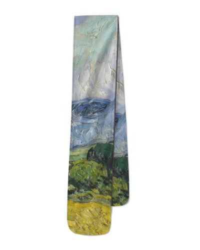 Vincent Van Gogh Fine Art Painting Fleece Scarf Warm for Winter Faux Fur
