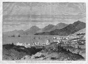 Vue GÉnÉrale*1865* Antiquitäten & Kunst RüCksichtsvoll Libanon*beirut*gesamtansicht Asien