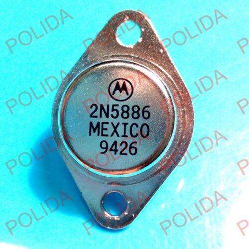 1PCS  Transistor MOTOROLA//ON TO-3 2N5886 2N5886G