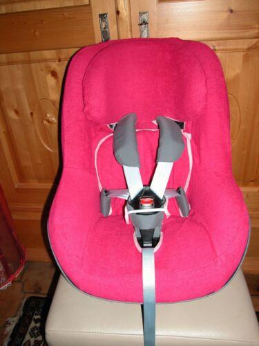 Sommerbezug Schonbezug Frottee für Maxi-cosi Pearl und 2wayPearl NEU pink