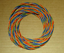 105 Ft 24 Silver Teflon Wire 7 Colors 732 Strands Mil Spec 16878 Us Seller