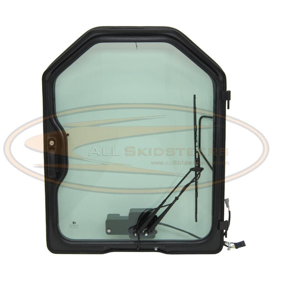 Bobcat Skid Steer Door W Wiper Glass 751 753 763 773 Front Enclosure