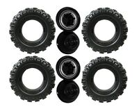 Power Wheels N2273 Jeep Hurricane Rust Replacement Wheel- 4 Pack
