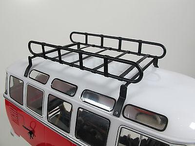 New Metal Roof Mount Luggage Rack for Tamiya 1//12 R//C WR02 Volkswagen Bus