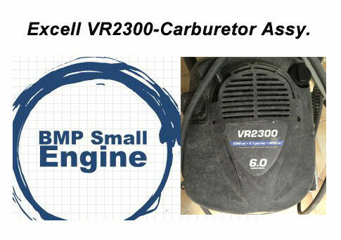Carburetor Carb Assy For Excell VR2300 2300PSI 2.1GPM Pressure Washer