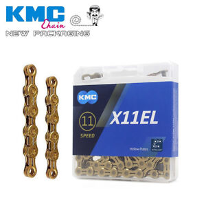 Kmc Bike Chain X11el Extra Light Gold Race Chains 11 Speed