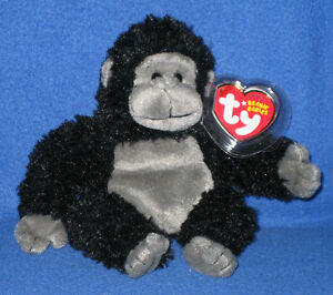 TY TUMBA the GORILLA BEANIE BABY - MINT with MINT TAGS