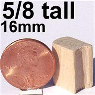 "10 pcs 7//8/"" Miniature Wooden MILK CAN wood dollhouse train crafts"