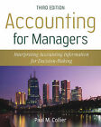 Accounting for Managers: Interpreting Accounting Information for Decision Making by Paul M. Collier (Paperback, 2009)