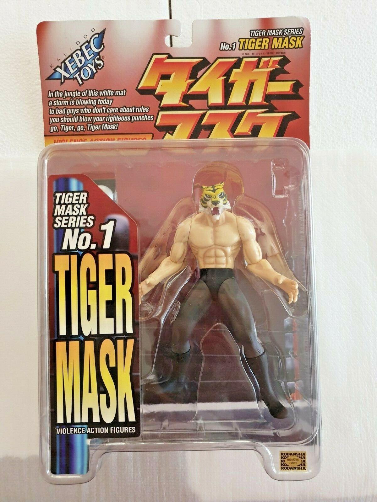 XEBEC giocattoli violenza azione cifra Uomo Tigre Tiger Mask serie NR 1 Uomo Tigre
