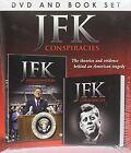 The JFK Conspiracies DVD & Book Gift Set 5060294372998
