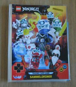 Lego-Ninjago-Serie-5-Trading-Card-Game-Sammelmappe-Mappe-Sammelordner-leer
